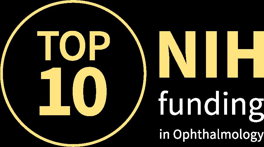Top Ten NIH Funding in Ophthalmology