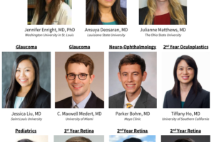 Welcome the Chief of Ophthalmic Trauma and Fellows of 2021-2023