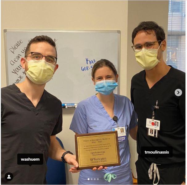 """""""Friend of Emergency Medicine"""" Award"""